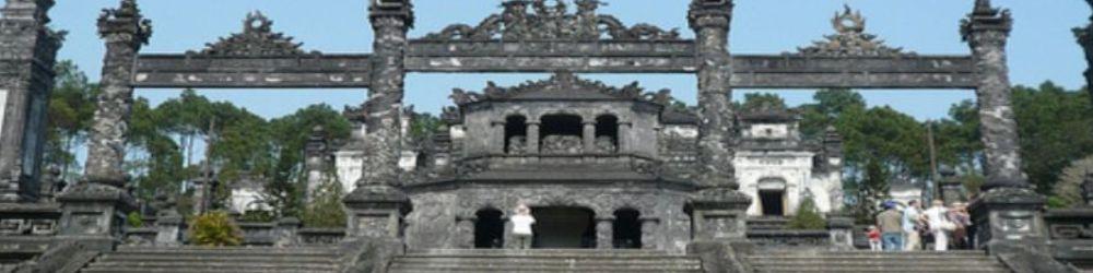 Hoi An Biking Tour Hue Khai Dinh Tomb