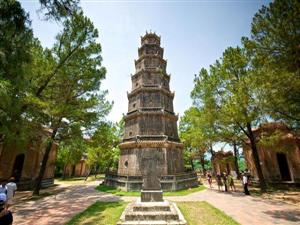 Hoi An Biking Tour Hue Thien Mu Pagoda1