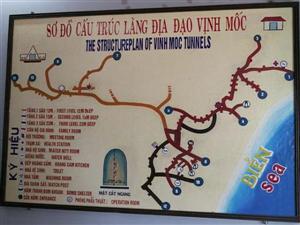 Hoi An Biking Tour Vinh Moc Tunnels Map